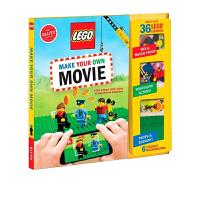 LEGO Make Your Own Movie 乐高制作你自己的电影 英文原版 KLUTZ新奇游戏书