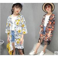 韩版时尚防晒衫童装女童休闲百搭户外新款儿童中大童户外皮肤衣超薄外套透气潮