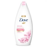 【每满100减50】多芬(Dove)沐浴露 樱花甜香 滋养美肤沐浴乳400g