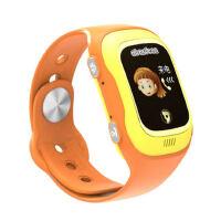 阿巴町儿童电话手表智能GPS定位手环学生防丢防水通话彩屏插卡小A