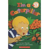 I Am a Caterpillar 我是毛毛虫 廖彩杏书单 Scholastic Reader L1 学乐分级科普阅