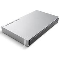 【全国大部分地区包邮哦】保时捷设计 Porsche Design P9223 2.5英寸 移动硬盘 USB3.0 2T 银白色(STET2000400)欧洲存储贵族--LaCie
