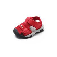【119元任选2双】天美意teenmix童鞋男童女童休闲宝宝鞋凉鞋 CX7653 CX7654 CX7656