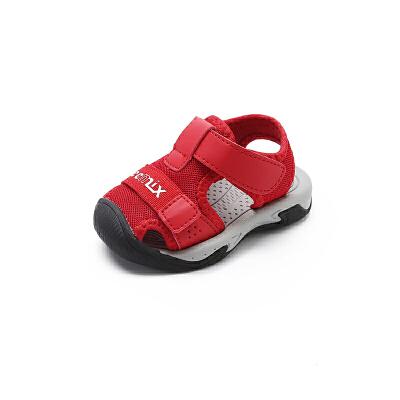 【99元任选2双】天美意teenmix童鞋男童女童休闲宝宝鞋凉鞋 CX7653 CX7654 CX7656 【开学季:限时99元2双】