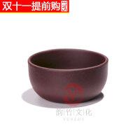 宜兴功夫茶道紫砂小口品茗杯 茶具配件主人单杯 个人杯 可定制