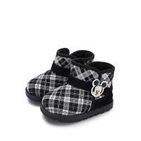 【99元任选2双】迪士尼童鞋女童休闲靴子男童马丁靴 HS1539 HS1924 HS1918 ......