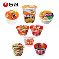 韩国进口 农心 3杯5碗大组合