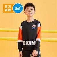 361童装 男童长袖套头卫衣2021春季新品中大童儿童运动休闲上衣 N52031305