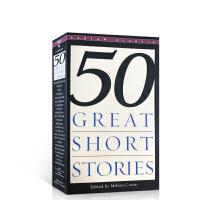 英文原版进口 Fifty Great Short Stories 50篇精选短篇小说 可搭怦然心动flipped追风筝