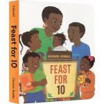 Feast for 10 英文原版绘本 带宝宝去超市挑选各种食物和食材 吴敏兰 第57本 培养生活经验 儿童启蒙图画书