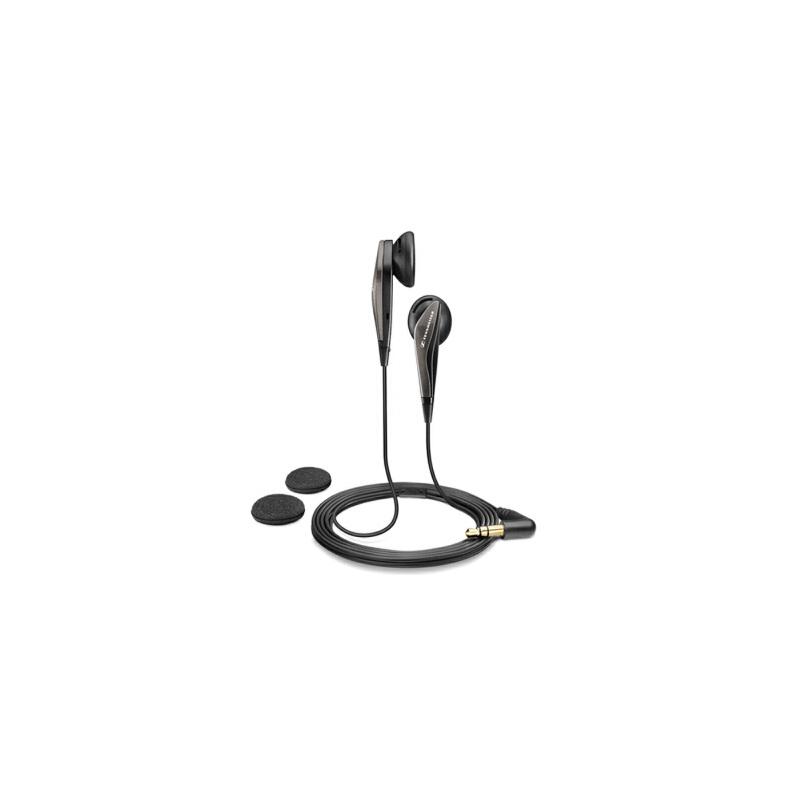 森海塞尔(Sennheiser)耳塞 MX375 强劲低音驱动立体声耳塞 黑色提供强劲的低音效果 mx365升级版全国大部分地区包邮!自带耳机便携包!
