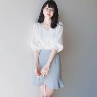 安妮纯女神套装初春两件套裙小香风2020新款女装春装潮时尚春款洋气减龄