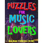 预订 Puzzles for Music Lovers: 111 Large Print Music Themed W