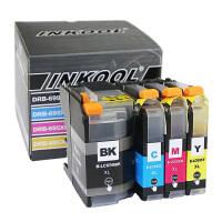 INKOOL适用兄弟打印机墨盒 LC699XL  MFC-J2320 MFC-J2720 黑色LC699XL 彩色LC695XL 大容量一套四色