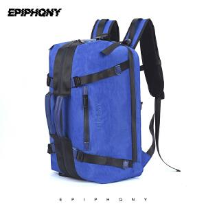 Epiphqny2018新款潮牌户外防水多功能背包休闲徒步旅行手提双肩包