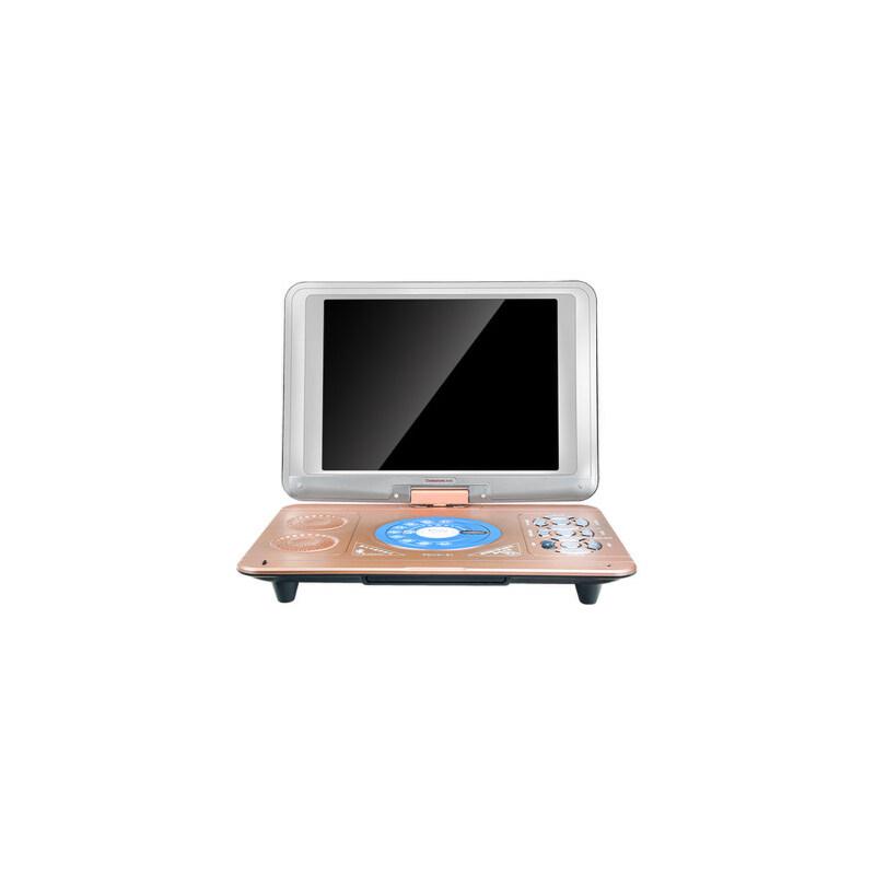 长虹dvd影碟机移动便携式家用CD光盘vcd碟片儿童学生小型学习英语一体读碟高清evd迷你小电视机视频播放器  18寸蓝牙升级版 全格式学习电脑 高清播放 超长待机
