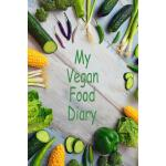 预订 My Vegan Food Diary: 100 Page Journal - Sections for Bre