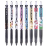 包邮 日本UNI三菱中性笔UMN-158DS公主联名限定按动水笔黑笔