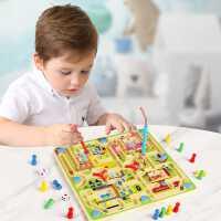 �和�磁性�\�P迷�m玩具走珠益智力�幽X思�S�W⒘τ���H子游��3�q4