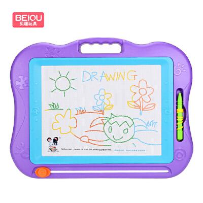 【每满100减50】琪趣 儿童画画板磁性写字板宝宝婴儿小玩具彩色超大号涂鸦板(不含配件) 99立减5,满29元全国28省包邮 偏远6省除外