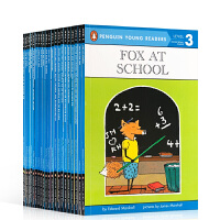 【顺丰包邮】英文原版 Penguin Young Readers Level 3 系列全套22本 汪培�E第三阶段读物