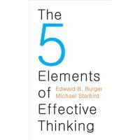 英文原版 有效思考的5大元素 The 5 Elements of Effective Thinking