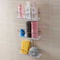 双庆吸盘置物架浴室吸盘置物架厨房吸盘置物架三层沐浴露架 1957
