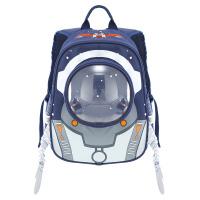 智高 ZG-8472 蓝色 宝宝儿童书包 可爱卡通玩具双肩背包 太空宇航员幼童包 当当自营