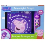 预订 Peppa Pig - Moonlight Bright Sound Book and Flashlight S