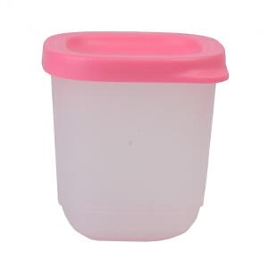 特百惠小可爱110ML冷藏保鲜小方盒 可爱零食盒干货盒储藏盒 颜色*