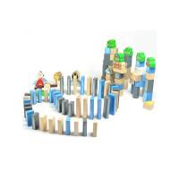 愤怒的小鸟玩具 积木拼插玩具 100粒积木 木制益智玩具木质积木(经典版)86005