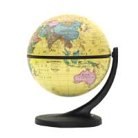 11cm中英文政区仿古地球仪(单支点万向支架)