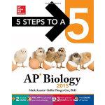 5 STEPS TO A 5 AP BIOLOGY W/CD-ROM 2015 英文原版