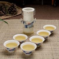 玻璃茶具套装大号200ML陶瓷整套功夫青花瓷红茶茶具套装