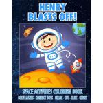 预订 Henry Blasts Off! Space Activities Coloring Book: Solve