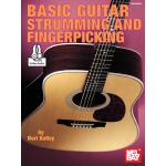 预订 Basic Guitar Strumming and Fingerpicking [ISBN:978078668