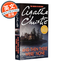 无人生还 英文原版 And Then There Were None 阿加莎克里斯蒂 Agatha Christie