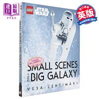 【中商原版】镜头下的乐高星球大战 英文原版 LEGO Star Wars Small Scenes From A Bi