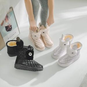 O'SHELL欧希尔新品119-7015休闲 女士雪地靴