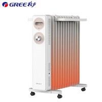 格力(GREE)取暖器 油汀 NDY22-S6022 13片大功率 干衣取暖 整屋升温 家用 电暖器 大面积散热 电暖气