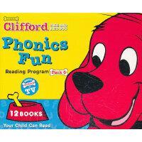 Clifford's Phonics Fun Box Set #6 (w/CD) 大红狗自然拼读法系列套装6(含CD)