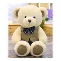 布拉格泰迪熊公仔情侣熊抱抱熊毛绒玩具熊布娃娃小熊玩偶女生礼物