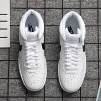 Nike耐克男鞋�\�有�耐磨休�e鞋高�桶逍�CD5466-101