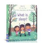 【发顺丰】英文原版绘本 Lift-the-flap What is Sleep? 睡觉是什么?儿童启蒙科普认知图画书