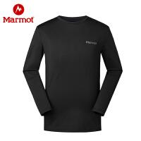 Marmot/土拨鼠秋冬户外男士保暖内衣