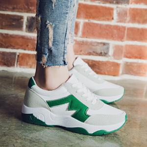 ELEISE美国艾蕾莎新品059-A1928韩版女士休闲鞋