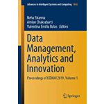 预订 Data Management, Analytics and Innovation: Proceedings o