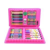 儿童水彩笔绘画42件套装幼儿小学生学习绘画套装画笔蜡笔油画棒