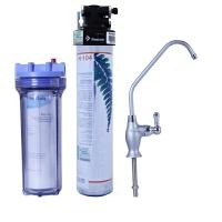 美国滨特尔爱惠浦净水器H104家用厨房自来水过滤直饮净水机 除铅抑垢