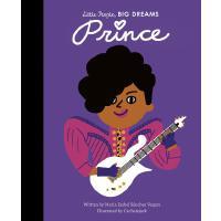 小男孩,大梦想:歌手普林斯 英文原版 绘本 精装大开本 名人传记 Prince (Little People, BIG